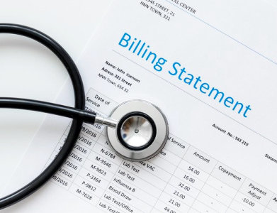billing statement papers